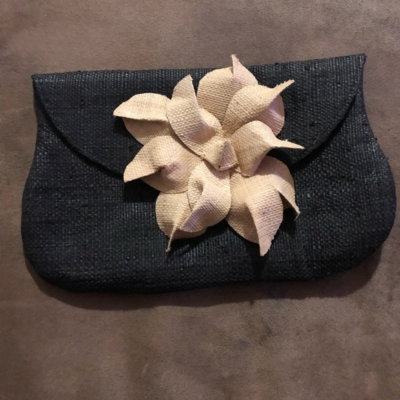 Handbags - Chic and unique Handmade Black and Tan clutch